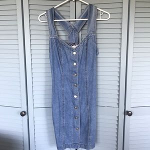 Dresses & Skirts - 90s jean dress
